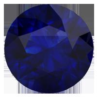 Created Blue Sapphire (September)